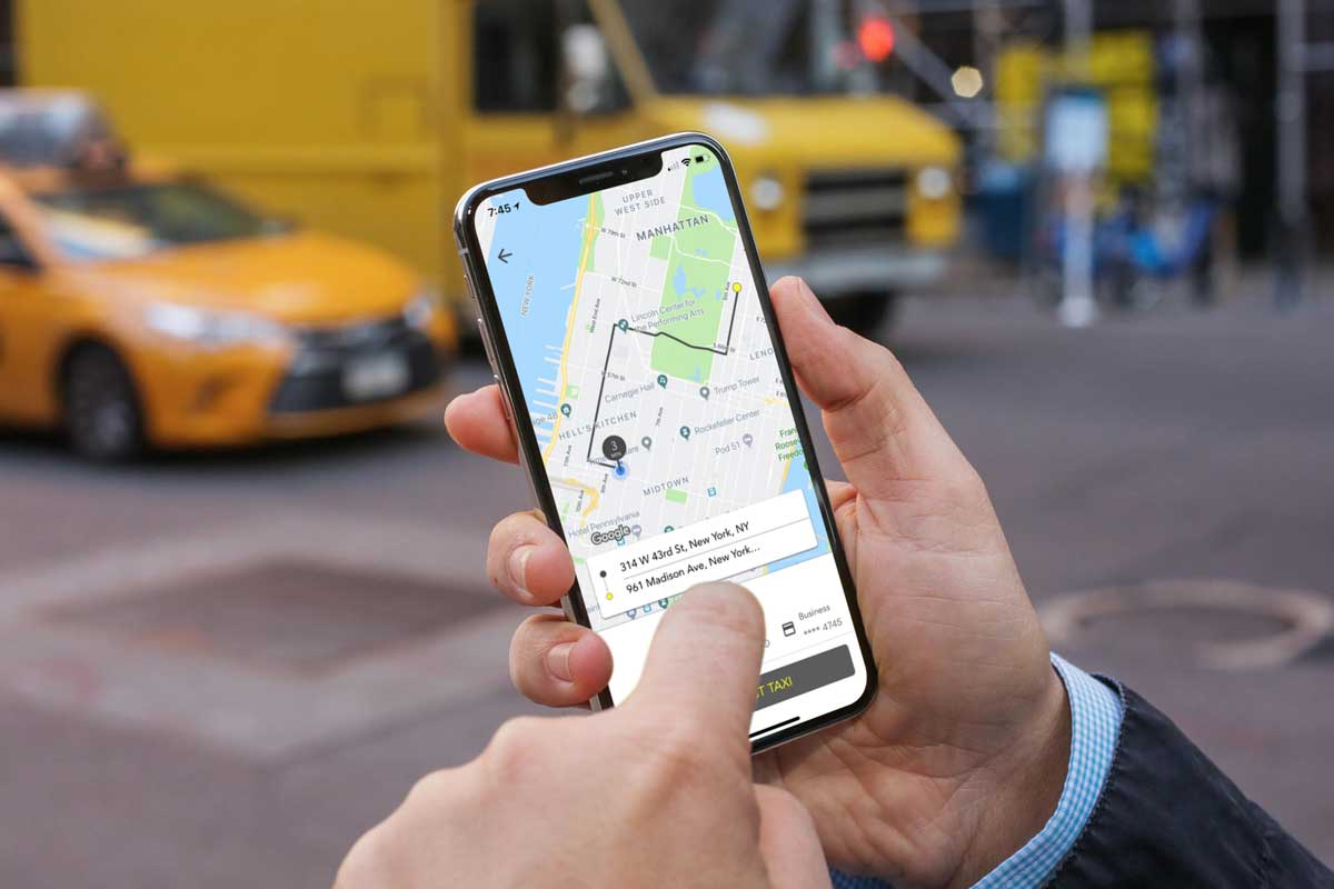 Starting This Month New York City Yellow Taxis In Manhattan Will Offer Upfront Fares Before Passengers Hail A Trip Via Waave The First Smartphone App Of